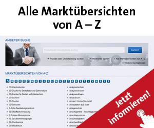 Alle Marktübersichten Technik und Einkauf von A - Z