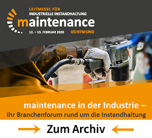 maintenance in der Industrie
