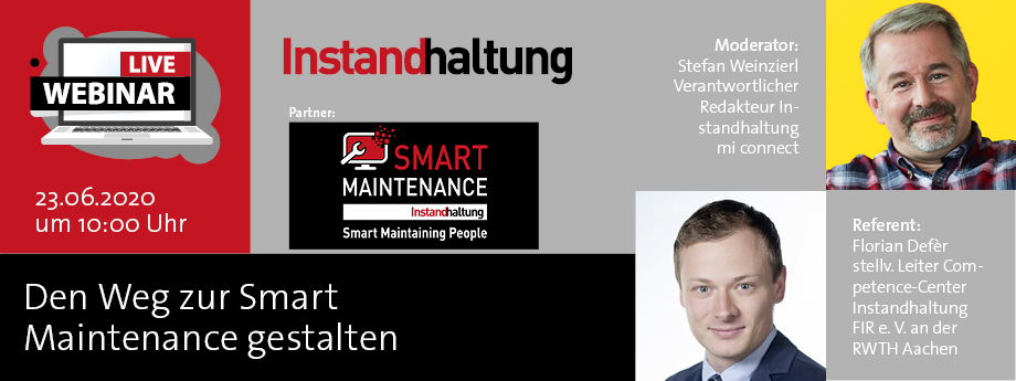 Header Webinar Smart Maintenance