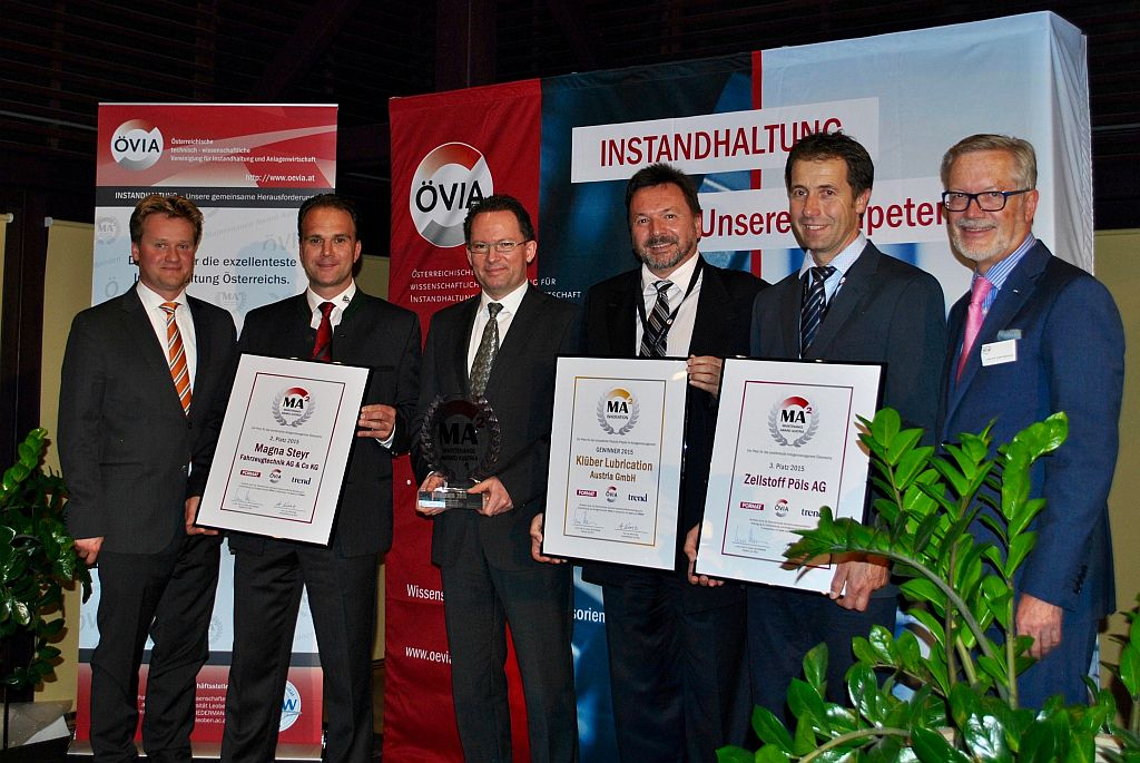 ÖVIA Maintenance Award Austria