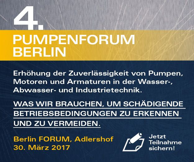 Pumpenforum 2017 Berlin