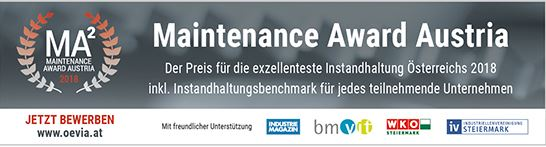 Logo Maintenance Award Austria 2018